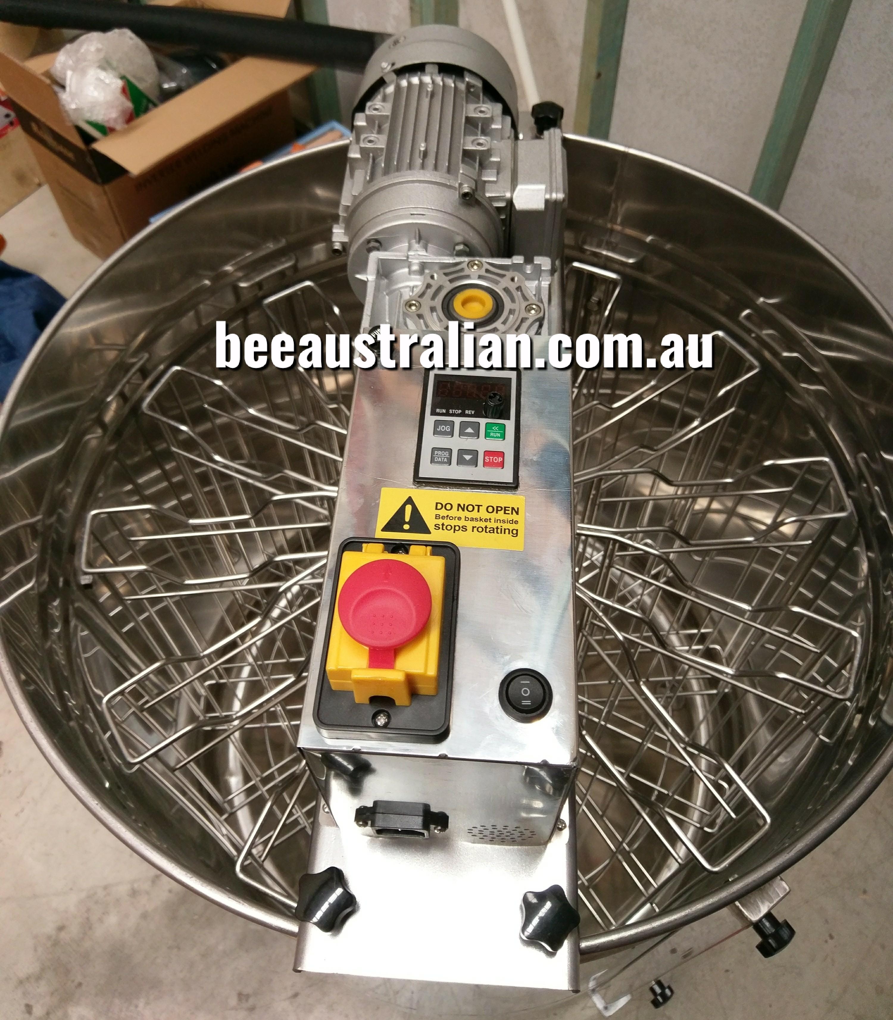 14aa8bab1e2 Bee Australian 12 Frame Reversible Electric Honey Extractor - Bee Australian