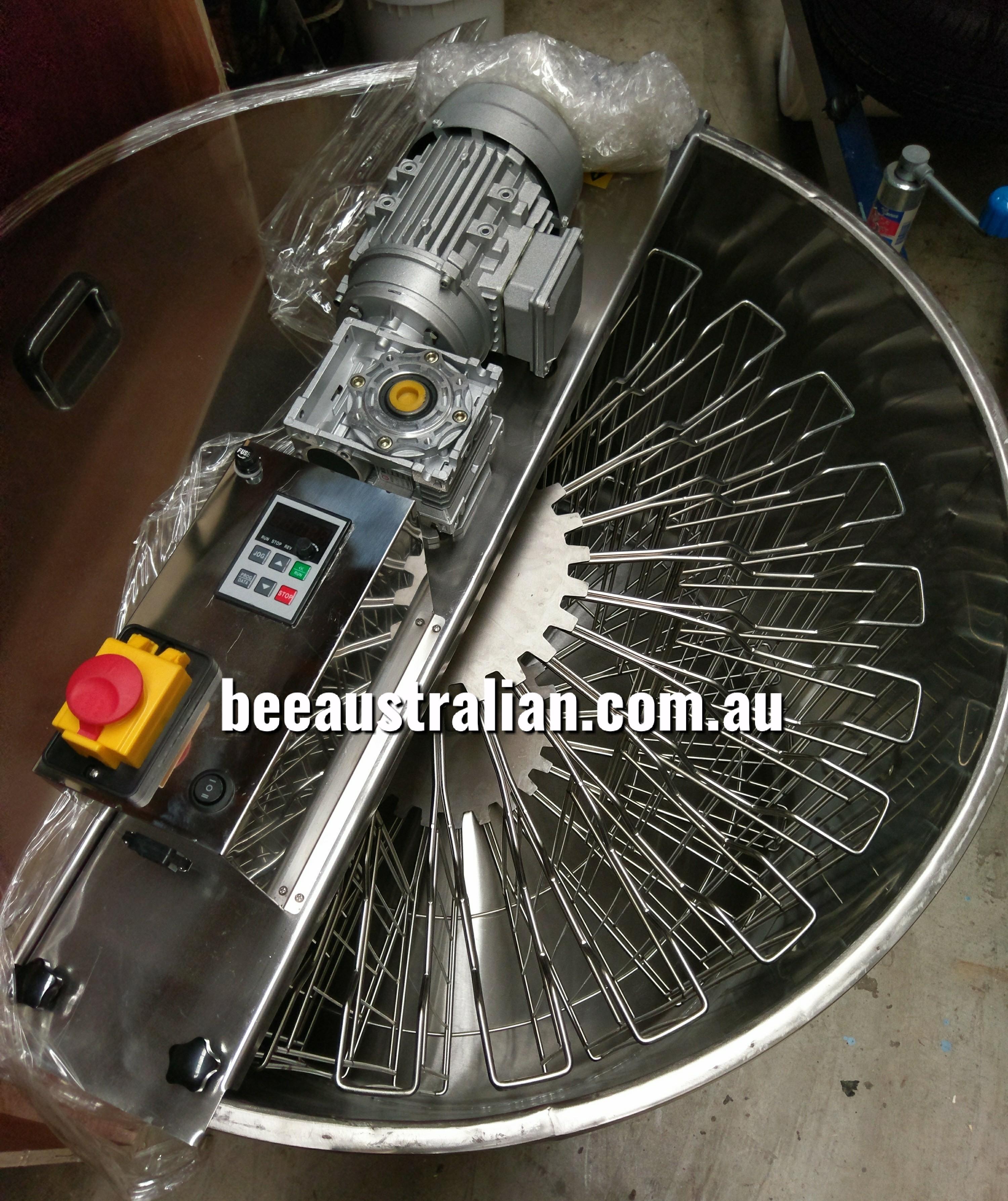f01bec5debe Bee Australian 24 Frame Electric Honey Extractor SS - Bee Australian